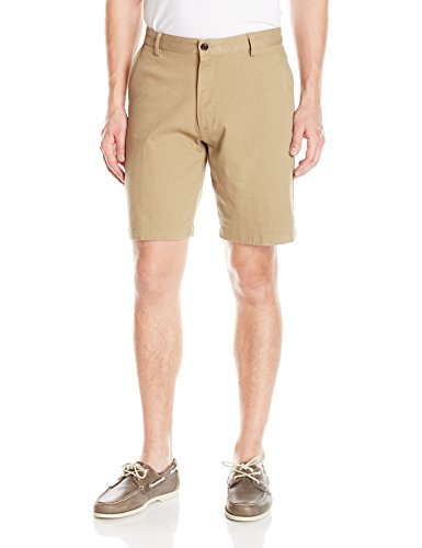 Dockers Men's Classic Fit Perfect Short D3 Stretch, New British Khaki (Stretch), 36W (Khaki Stretch Shorts)