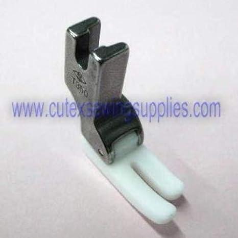 Industrial máquina de coser estándar de teflón de alta calidad Presser Foot # T350: Amazon.es: Juguetes y juegos