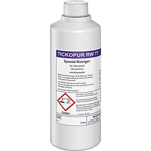 Tickopur RW 77 Ultrasone reiniger reinigingsconcentraat 1 liter