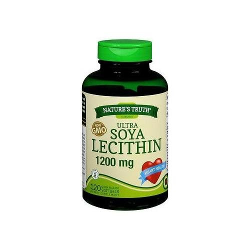 Nature's Truth Ultra SOYA Lecithin 1200 mg Quick Release Softgels - 120 ct - Buy Packs and Save (Pack of 5)
