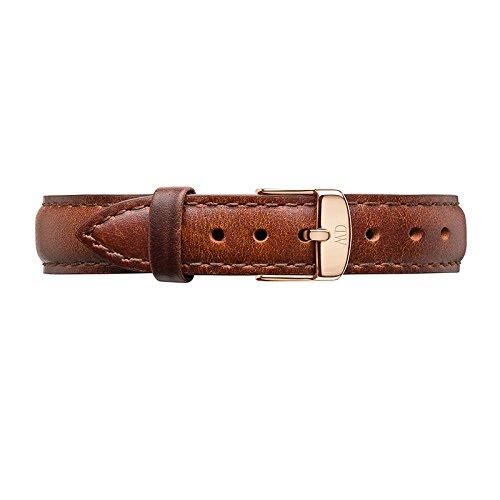 Daniel Wellington St Mawes Leather Strap, Rose Gold - 17mm for 34mm (1050DW) (Wellington Classy Daniel)