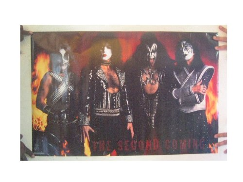 Kiss Poster The Second Coming Ace Frehley Gene Simmons Paul Stanley Peter Criss