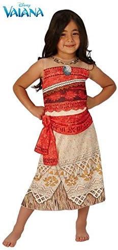 DISBACANAL Disfraz Vaiana Disney niña - -, 7-8 años: Amazon.es ...