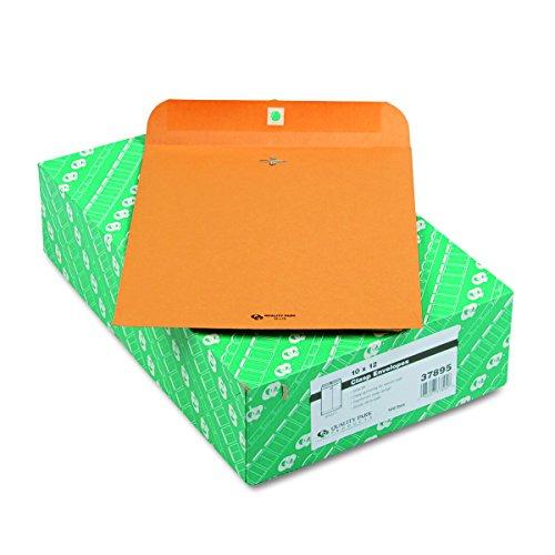 Quality Park Quality Park Gummed Kraft Clasp Envelopes (QUA37895)