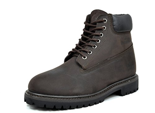 arctiv8 Men's JOB-01 Brown Full-Grain Leather Work Boots - 5.5 M US