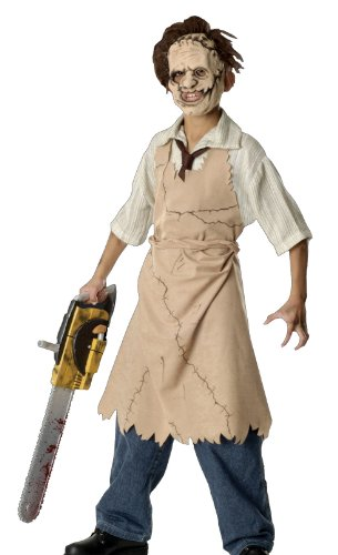 The Texas Chainsaw Massacre 3D Child's Leatherface Costume, Medium]()