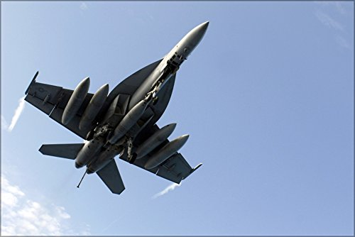 24x36 Poster . Fa-18E Super Hornet F-18 Strike Fighter Squadron (Vfa) 27 ()