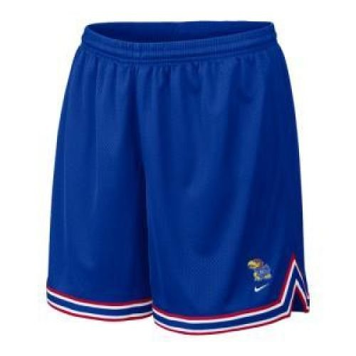 Kansas Jayhawks Women's College Basketball Short - Women - M (College Basketball Womens Nike)