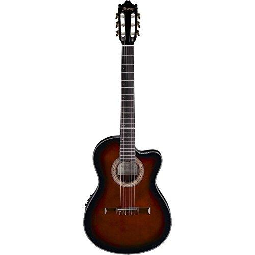 Ibanez GA35TCEDVS Acoustic/Electric Guitar - Dark Violin Burst