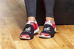 2 FEET Socks for Dancing on Smooth