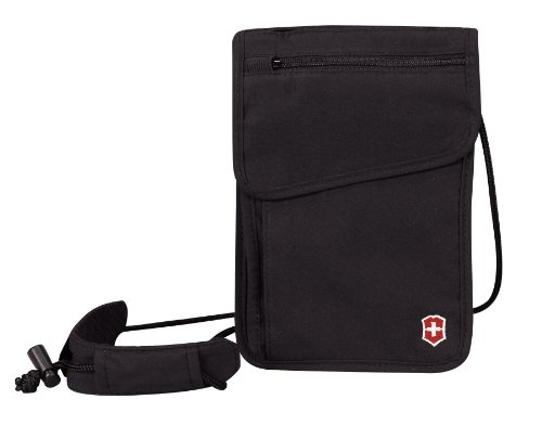 Victorinox  Deluxe Concealed Security Pouch,Black,One Size