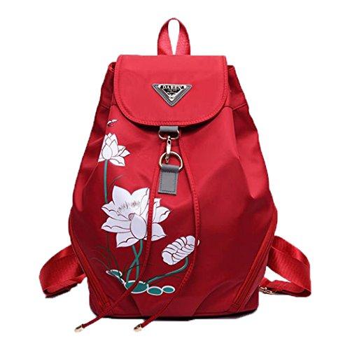 womens-backpacks-casual-flower-printing-travel-school-bags-red