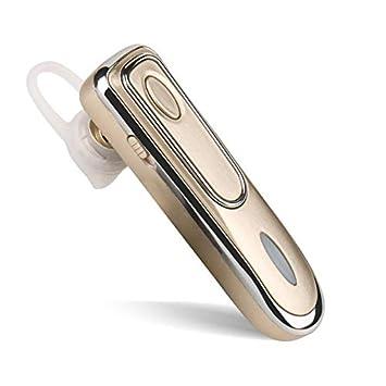T1 - Auriculares inalámbricos con cancelación de Ruido y micrófono para iPhone y Samsung Dorado: Amazon.es: Electrónica