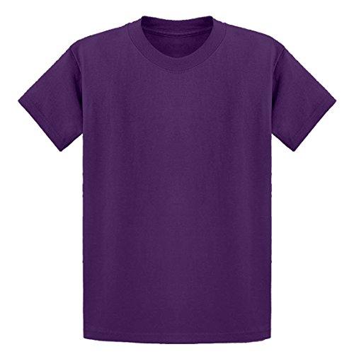 (Indica Plateau Youth Blank Medium Purple Kids T-Shirt)