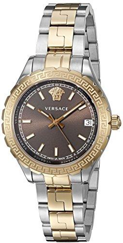 Versace Women's 'HELLENYIUM' Swiss Quartz Stainless Steel Casual Watch (Model: V12040015)