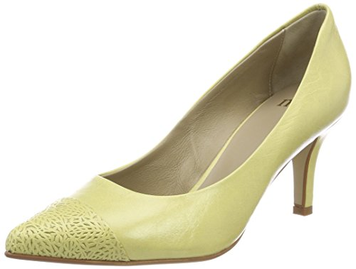 Pump Antwerp Escarpins Jaune yellow 703 Bout 1 Fermé Nica yellow Noe Femme 7RanpTn
