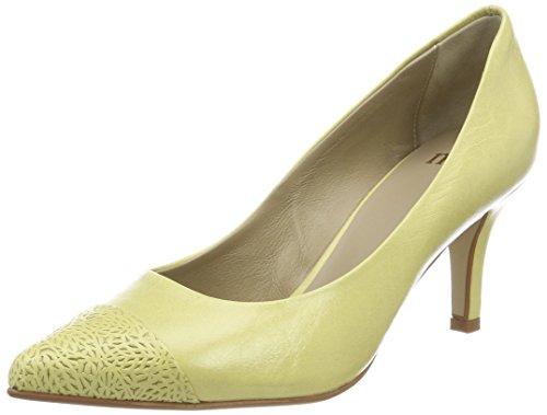 Yellow Nica Noe Bout Yellow 703 Jaune Femme Fermé Escarpins 1 Pump Antwerp S4q58