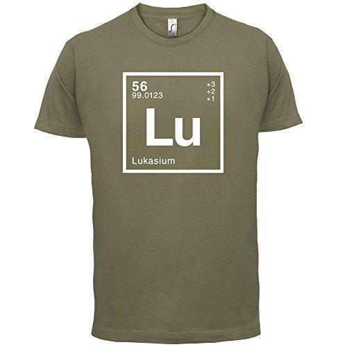Lukas Periodensystem - Herren T-Shirt - Khaki - XS: Amazon.de: Bekleidung