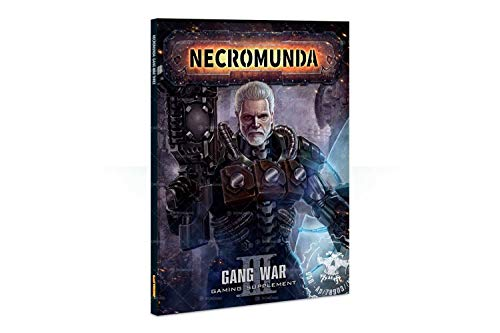 - Warhammer 40,000 Necromunda: Underhive Necromunda: Gang War III Miniature Game Accessory
