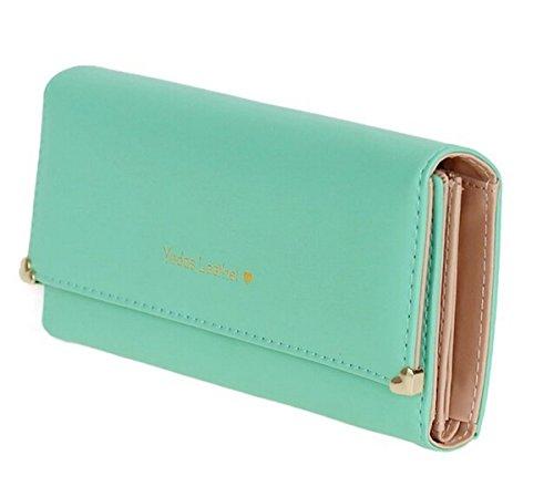Zando Classic Trifold Leather Handbag
