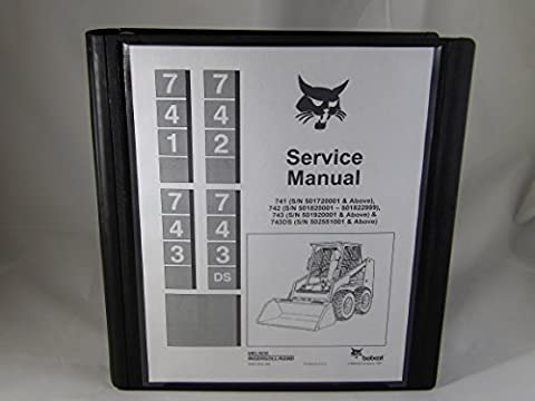 BOBCAT 741 742 743 743-DS SKID STEER SERVICE MANUAL - Others Service Manual