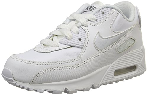 Nike Kids Air Max 90 Ltr Ps Sneakers Bianco / Cool Grigio / Bianco