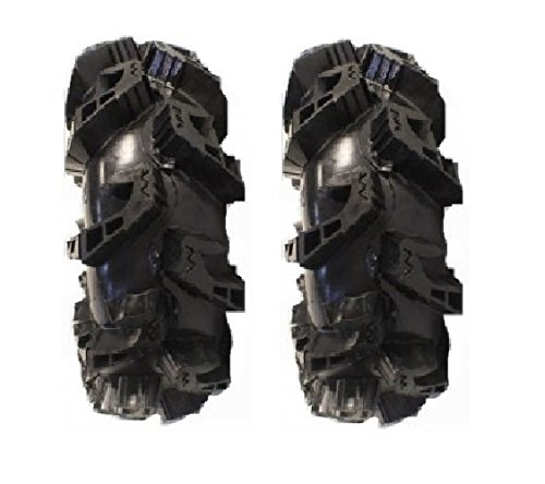 (Pair of Gorilla Silverback MT2 (6ply) ATV Mud Tires 33x10-14 (2))