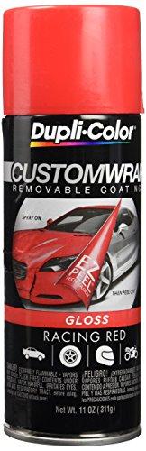 Dupli-Color ECWRC8430 Racing Red 11 Oz Custom Wrap Removable Coating, 11 Oz