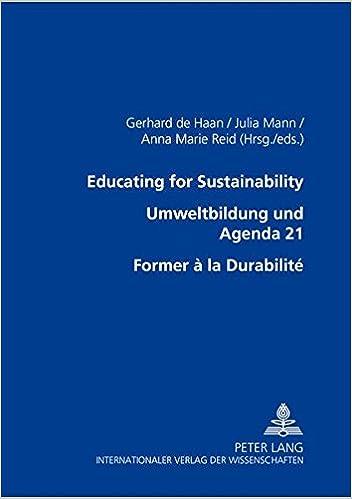 Amazon.com: Educating for Sustainability – Umweltbildung und ...