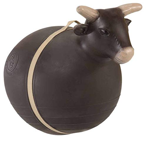 Big Country Toys Bouncy Bull - Kids Hopper Toys - Bull Riding & Rodeo Toys - Inflatable Ball with Handle - Patented Design