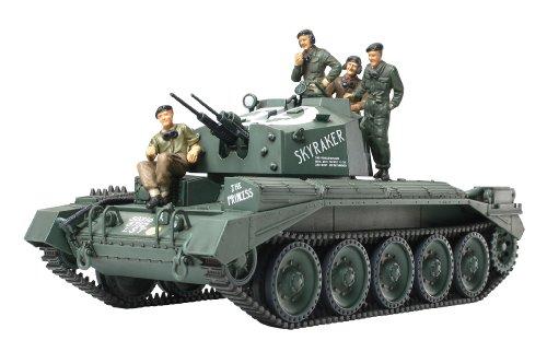 (Crusader Mk III Anti-Aircraft Tank 1/48 Tamiya)