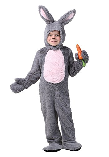 Toddler Grey Bunny Costume 2T ()