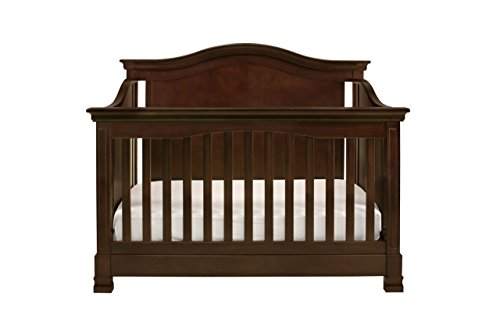 Full Size Conversion Kit Bed Rails for Million Dollar Baby Ashbury, Foothill & Louis Cribs - Espresso by Grow-with-Me Crib Conversion Kits (Image #7)