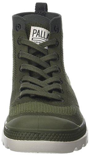 Palladium Unisex Volwassen Pampa Hi Lite Brei Sneaker Groene (gebrande Olive / Manestraal L79)