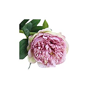 Smileshop01 Artificial Flowers Peony Bouquet for Wedding Party Decoration 1 Heads Peonies Fake Flowers Home Decor Silk Hydrangeas,PP 1