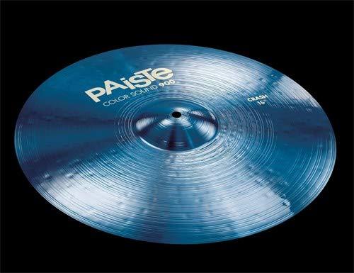 """Paiste Color Sound 900 Crash Cymbal - 16"""" Blue"""