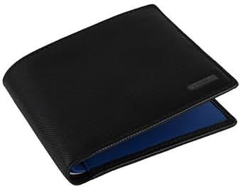 Black/Blue Large Billfold Wallet by Lacoste