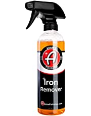Adam's Iron Remover (16oz) - Iron Out Fallout Rust Remover Spray Detailing Car Cleaning Kit   Remove Iron Particles in Car Paint, Motorcycle, RV & Boat   Use Before Clay Bar, Car Wax or Car Wash