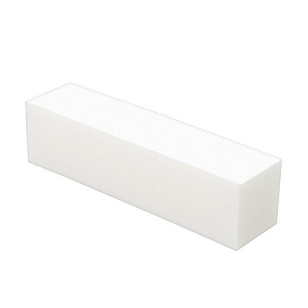 Kentop Polierblock Buffer der mit 4 Polierflächen Maniküre Nagelkunst Werkzeug Weiß