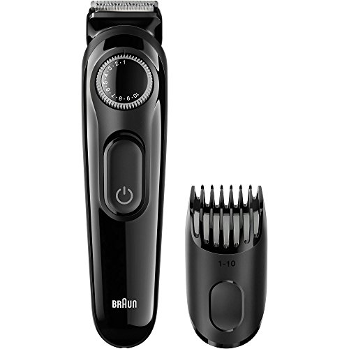 Braun All-in-One Cordless Universal Voltage Multi-groom Turbo-Powered Beard & Hair Trimmer Grooming Kit Plus Cube Travel Hard Protective Carrying Case Pouch