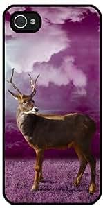 Funda para Iphone 5/5S - Navidad Animales Renos by WonderfulDreamPicture