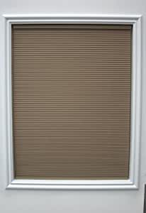New Age Bottom Up Cordless 3/8-Inch Light Filtering Single Cellular Shade, 41 by 48-Inch, Taupe