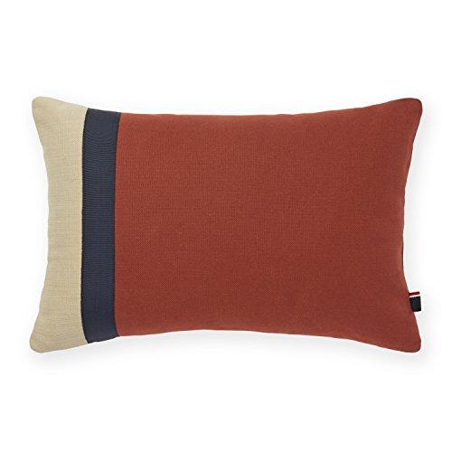 Tommy Hilfiger Pieced Canvas Decorative Pillow