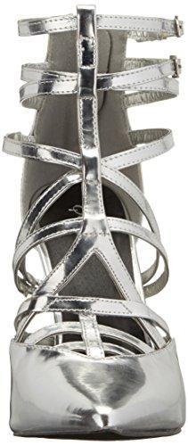 Dress Qupid Women's Mixi 96 Silver Pump fvt4Rxv0