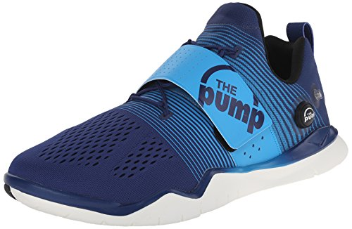Reebok Hombres Zpump Fusion Tr Club Blue / Lejano Azul / Negro / Chalk Sneaker