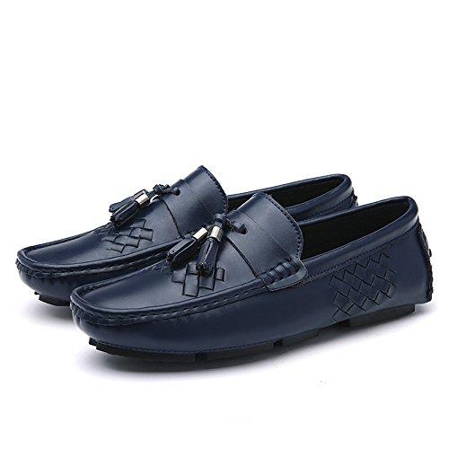 Hombres Azul otoño para de New Respirable al Zapatos de Libre Aire conducción nRW74q0W