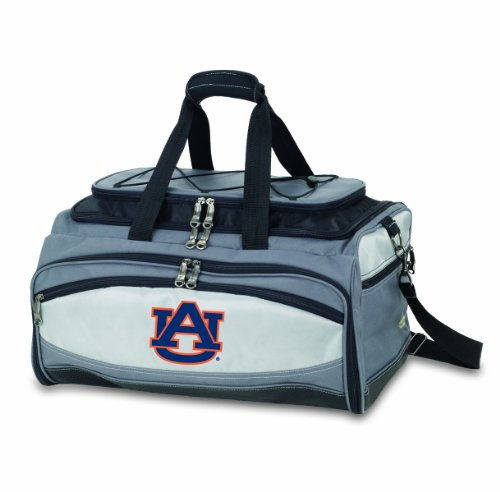 NCAA Auburn Tigers Buccaneer Tailgating Cooler with Grill by PICNIC TIME