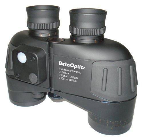 BetaOptics Waterproof Marine Binocular with Compass 7x50 by BetaOptics