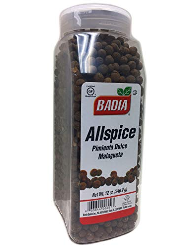 12 oz Bottle Whole Allspice Berries/Pimienta Dulce Entera malagueta