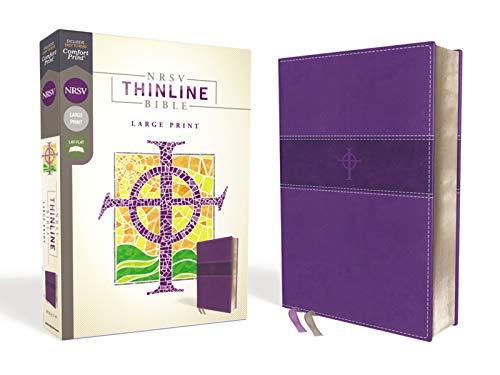 NRSV, Thinline Bible, Large